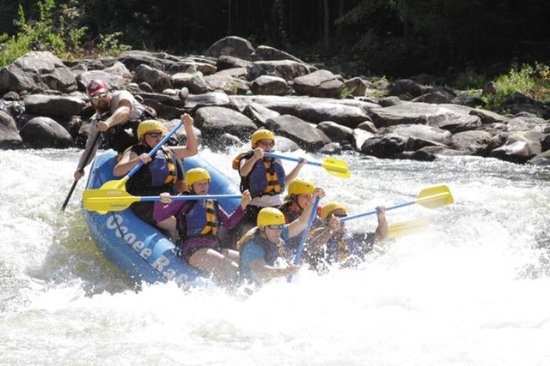 Ducktown, TN: Ocoee Rafting upper/middle