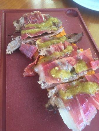 Taberna Tio Paco : Torta Serrana de presa ibérica