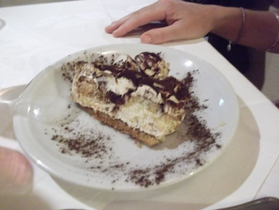 Trattoria Gigi Di Lippi Luciano: Tiramisu - best on the planet!