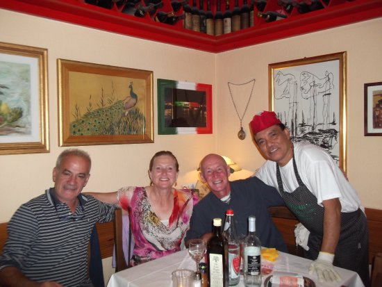 Trattoria Gigi Di Lippi Luciano: Locals and kitchen staff made us feel like part of the family. Coming back again tomorrow!