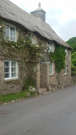 Widecombe in the Moor, UK: Cottage nelle vicinanze