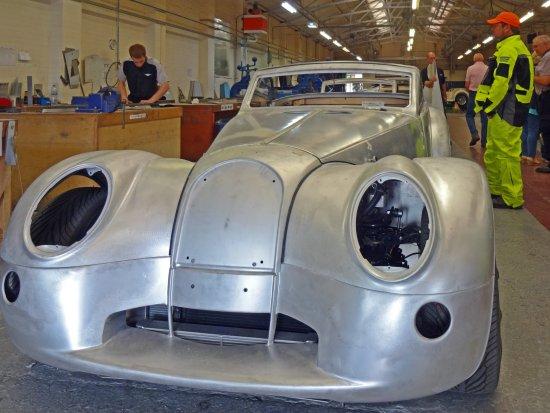 Morgan Motor Company Aero 8 In Production