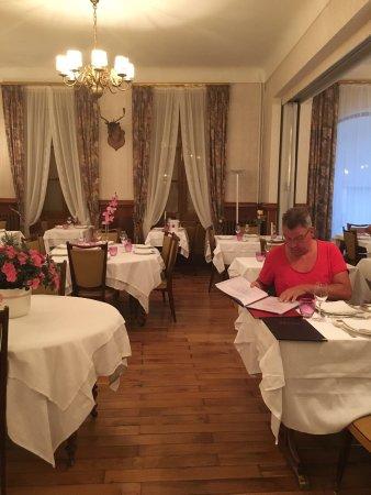 Florac, Frankrijk: De eetzaal