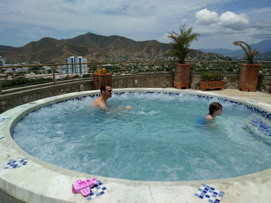 Giant Jacuzzi On The Top Of The Hotel Picture Of Terrazas