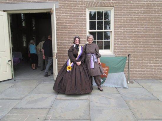 Seneca Falls, Νέα Υόρκη: Elizabeth Cady Stanton and Judith Wellman