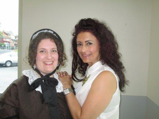 Seneca Falls, Νέα Υόρκη: Elizabeth Cady Stanton and Nadia Shahram