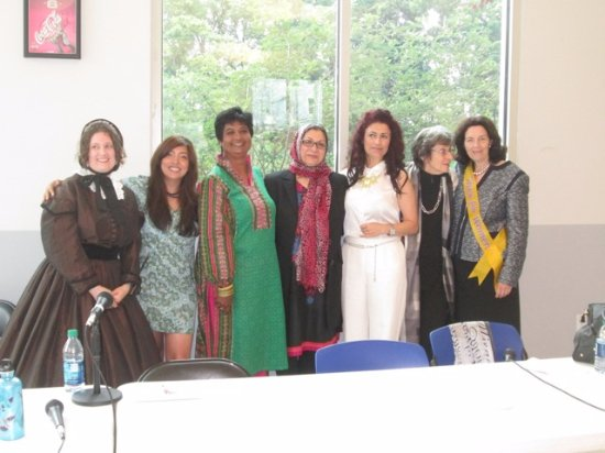 Seneca Falls, estado de Nueva York: Muslim Declaration of Sentiments  signers