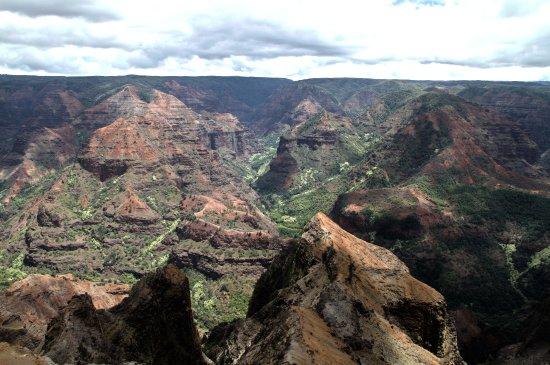 Waimea Canyon: Wat een uitzicht!