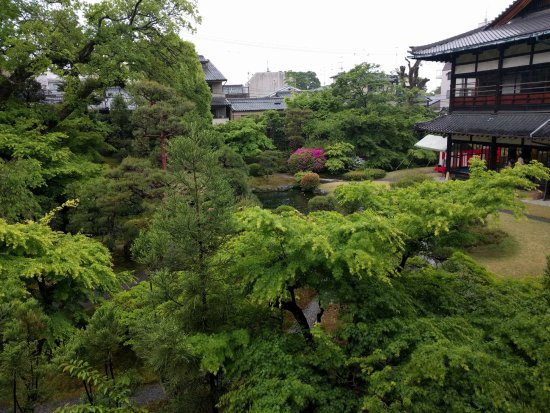 Gion Kobu Kaburenjo Theater: View of the garden