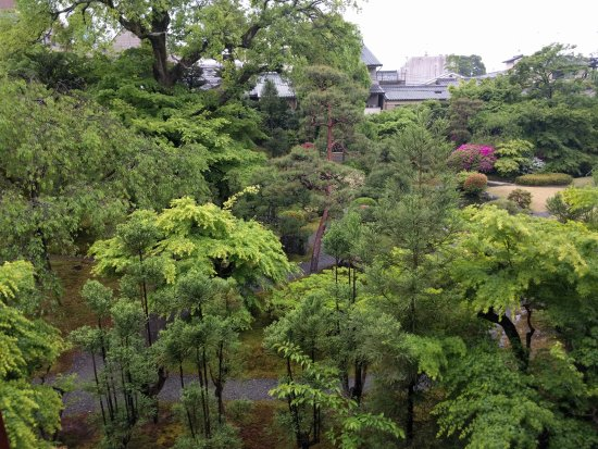 Gion Kobu Kaburenjo Theater: Comes with a nice garden view