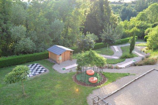 Entraygues-sur-Truyere, Франция: vue de la chambre