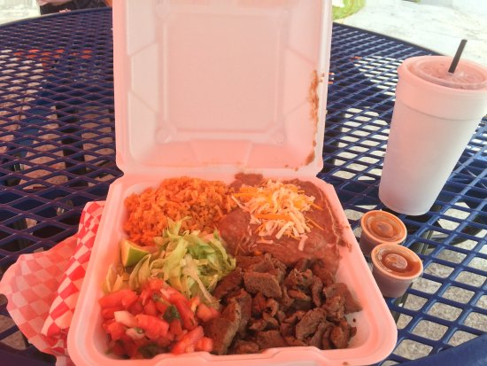 North Fort Myers, فلوريدا: Carne Asado Combo