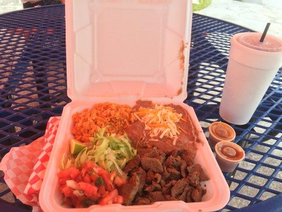 North Fort Myers, FL: Carne Asado Combo