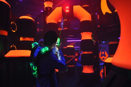 Rocklin, CA: Come play in our 7,000 square foot multi-level laser tag arena