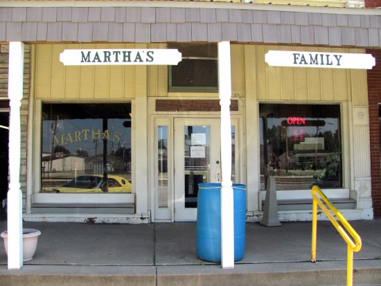 Martha's Shelbina, Mo. entrance...b