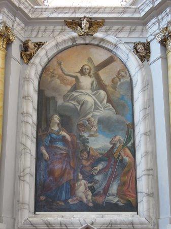 Marta, Italien: Pala sull'altare maggiore