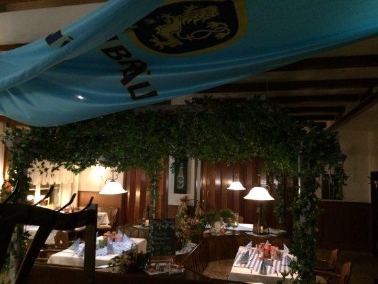 Genthin, Alemania: Hotel & restaurant