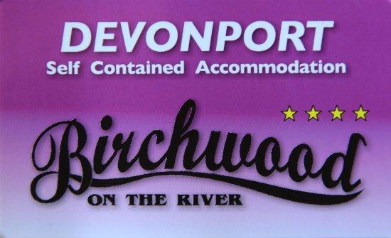 Birchwood Devonport Accommodation Logo 0418106192