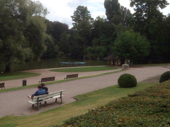 Chevreuil picture of jardin de l 39 orangerie strasbourg for Jardin orangerie