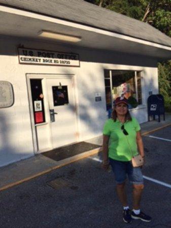 Chimney Rock State Park: En la entrada de la tienda