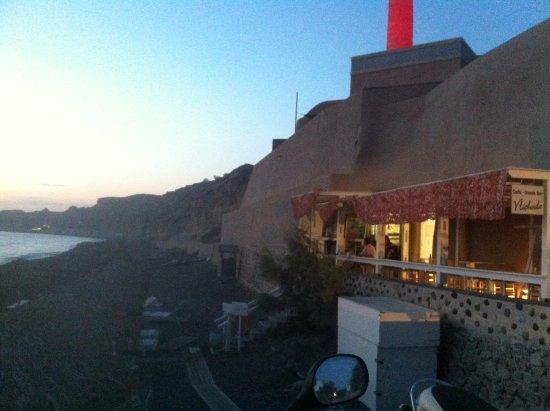 il bar di Vlychada Beach