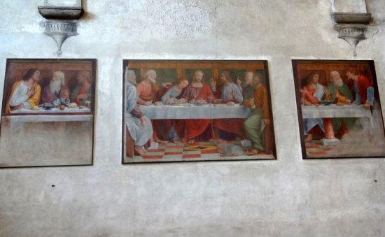 fresco the last supper Picture of Chiesa di Santa Maria degli