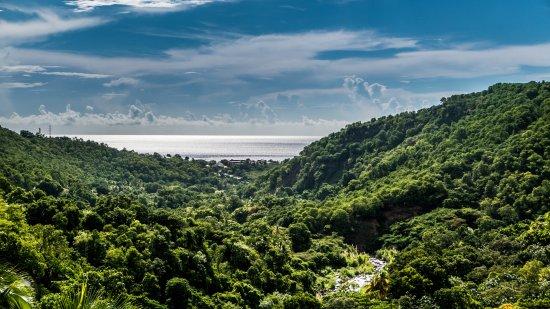 Bouillante, Guadalupe: De magnifiques paysages