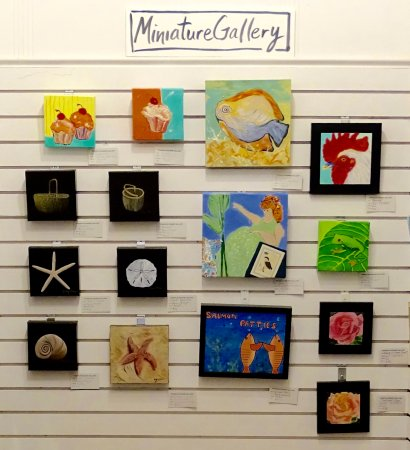 Southport, NC: Miniature Wall in Gallery