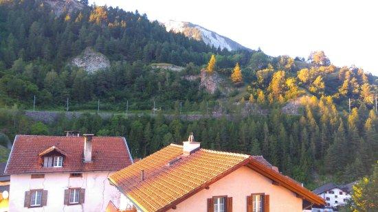 Tiefencastel, Suíça: Hotel Raetia