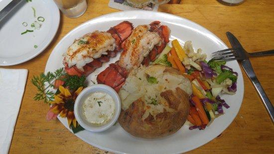 Meaford, Canadá: The lobster dinner.