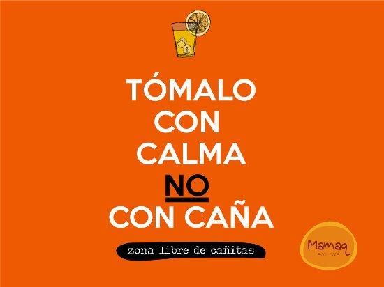 Región Lima, Perú: ¡No usamos cañitas!