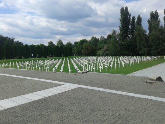 Vukovar, Хорватия: Vista del Memorial
