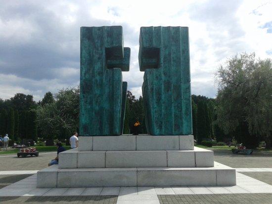 Vukovar, Croatia: La llama eterna