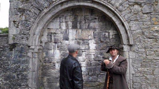 Конг, Ирландия: In Cong abbey