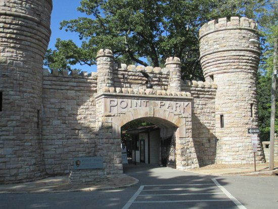 Lookout Mountain, TN: Entrance to Point Park