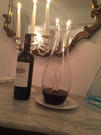 Rossellinis Restaurant : GREAT WINE