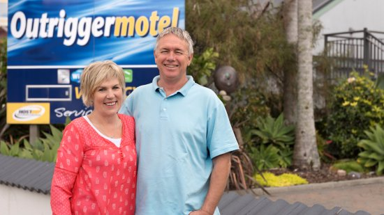 Outrigger Motel: Your hosts!