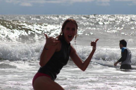 Playa Grande, Costa Rica: Happy Double Shaka