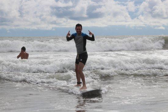 Playa Grande, كوستاريكا: Another double Shaka