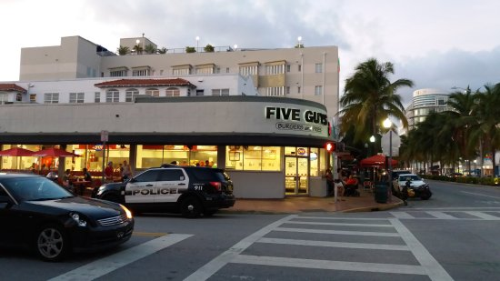 Five Guys Na Washington Avenue Picture Of Miami