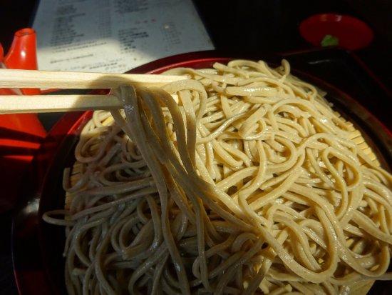 Haboro-cho, Japão: 麺の様子です