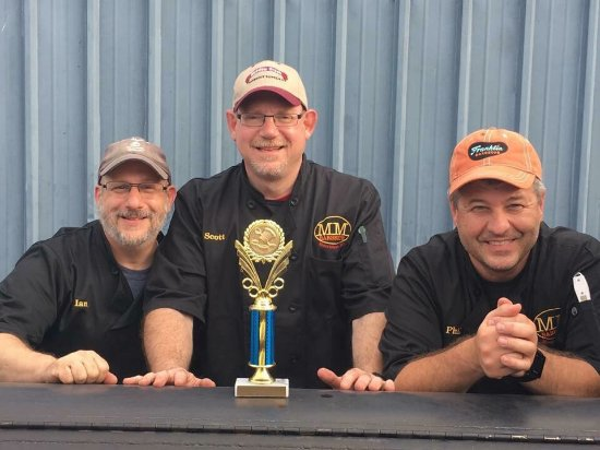 Morristown, Nueva Jersey: First Place Pork Shoulder 2016 Sussex County Champions of the Grill