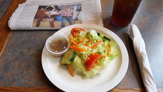 East Windsor, CT: House Salad
