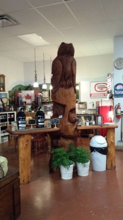 Agassiz, Canadá: This is where you can sweeten your tea or coffee!!