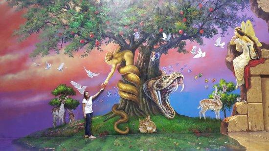 visit  garden  eden picture  art  island
