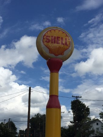 Winston Salem, Carolina do Norte: Shell Station