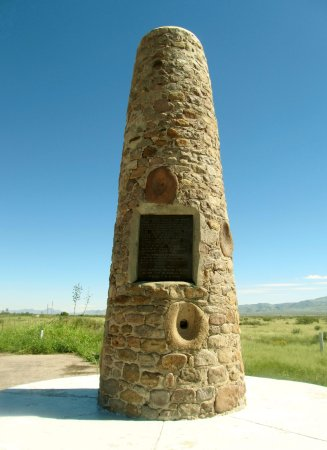 Portal, AZ: The Geronimo Surrender Site was commemorated with this monument dedicated in 1934.