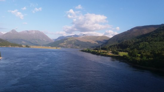 North Ballachulish, UK: View from Ballachulish Bridge