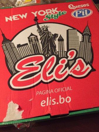 Eli's Pizza: Para entrega