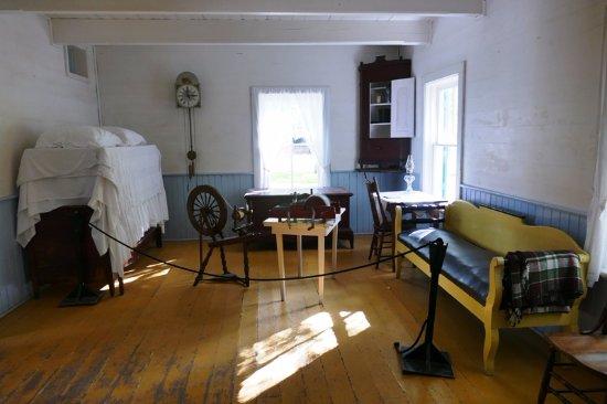 Mennonite Heritage Village: Inside a traditional Mennonite house
